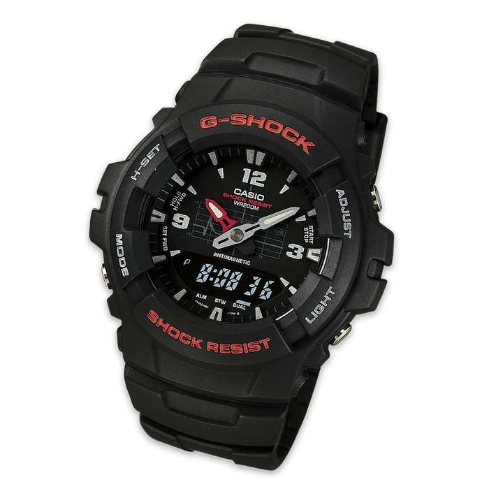 Casio G100-IBV Analog Watch