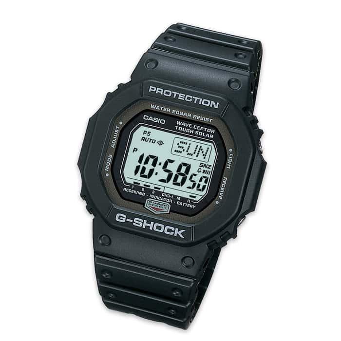 Casio G-Shock Solar Watch Black