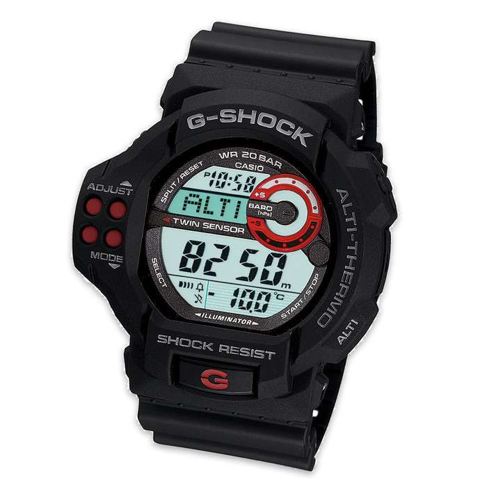 Casio G-Shock Twin Sensor Watch