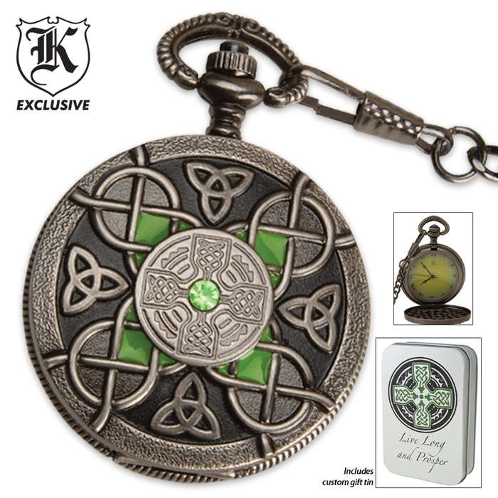 Celtic Pocket Watch