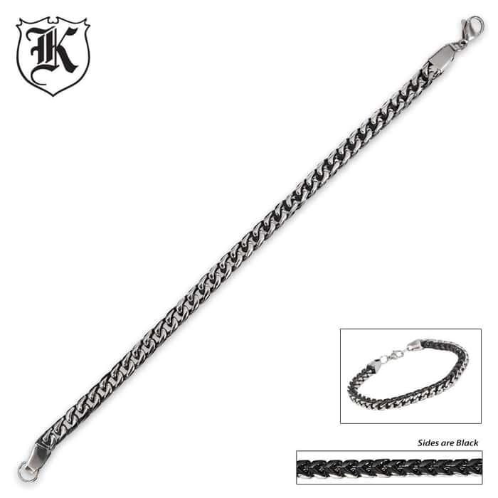 Braided Stainless Steel Bracelet