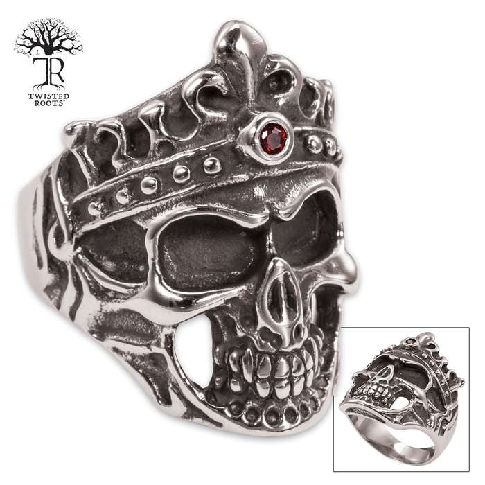 Twisted Roots Phantom King Stainless Steel Men's Ring