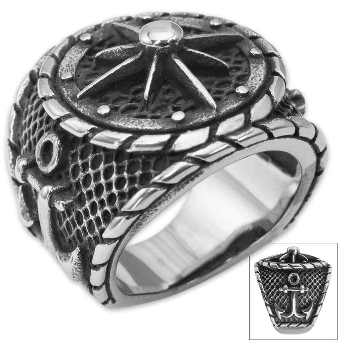 Twisted Roots Nautical Mile Ring