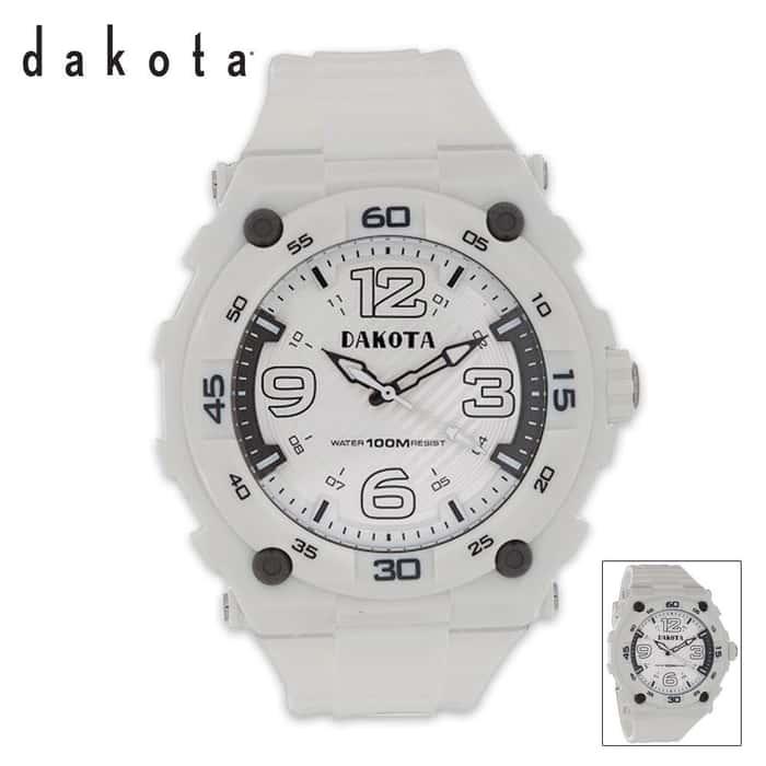 Dakota Tough Watch White