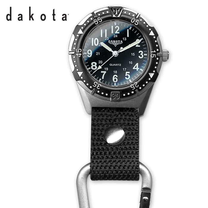 Dakota Aluminum Backpacker Watch