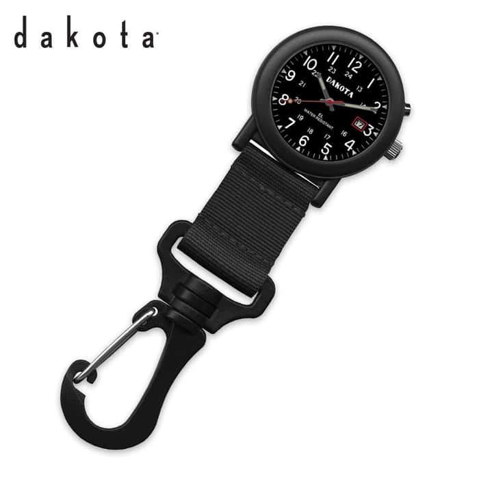 Dakota Light E.L. Light Backpacker Watch Black