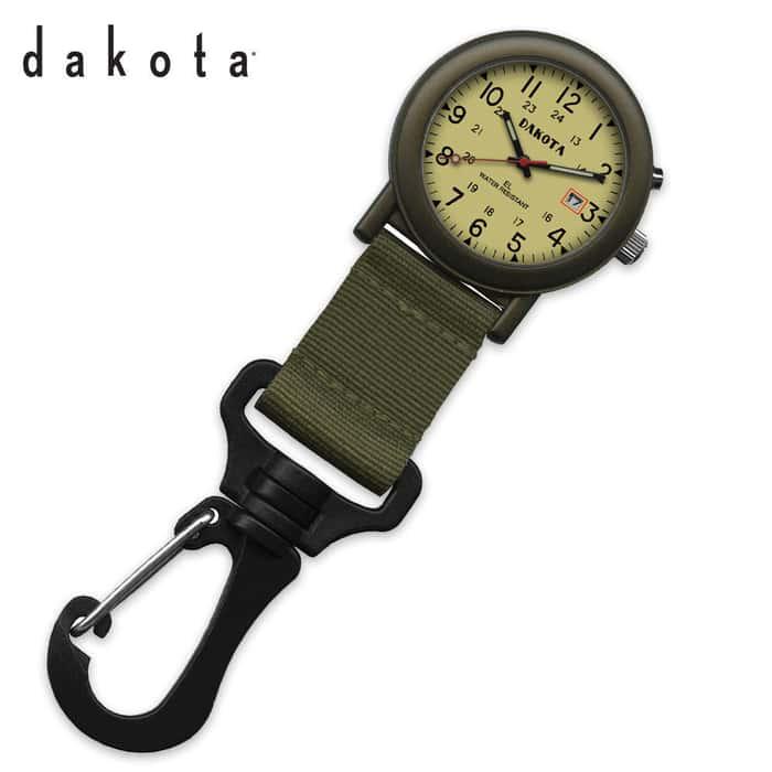 Dakota Light E.L. Light Backpacker Watch Moss Green