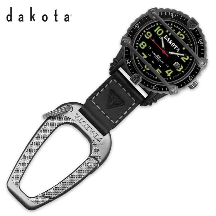 Dakota Phase III Watch Black