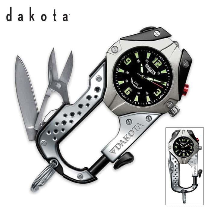 Dakota Knife Clip Watch Black