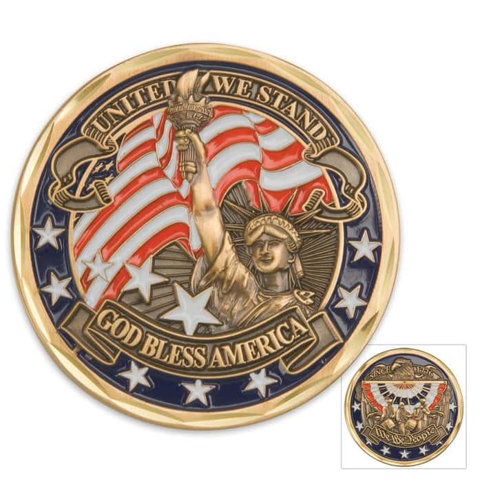 We The People U.S. Challenge Coin
