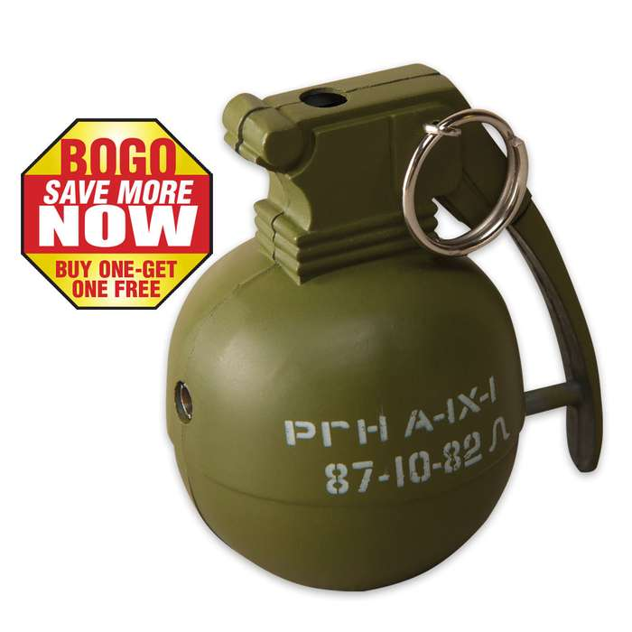 Grenade Lighter Assorted Colors 2 for 1