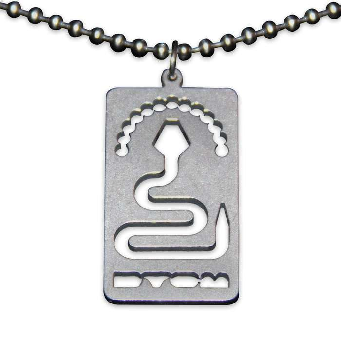 """Don't Tread On Me Beaded Chain 24"""""""