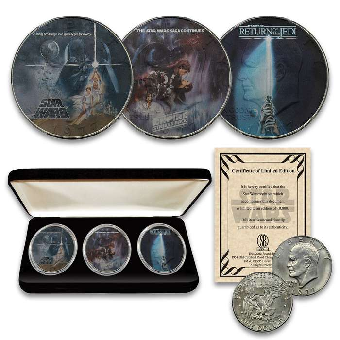 Here's your chance to own or give as a gift the Star Wars collectible set of the century!