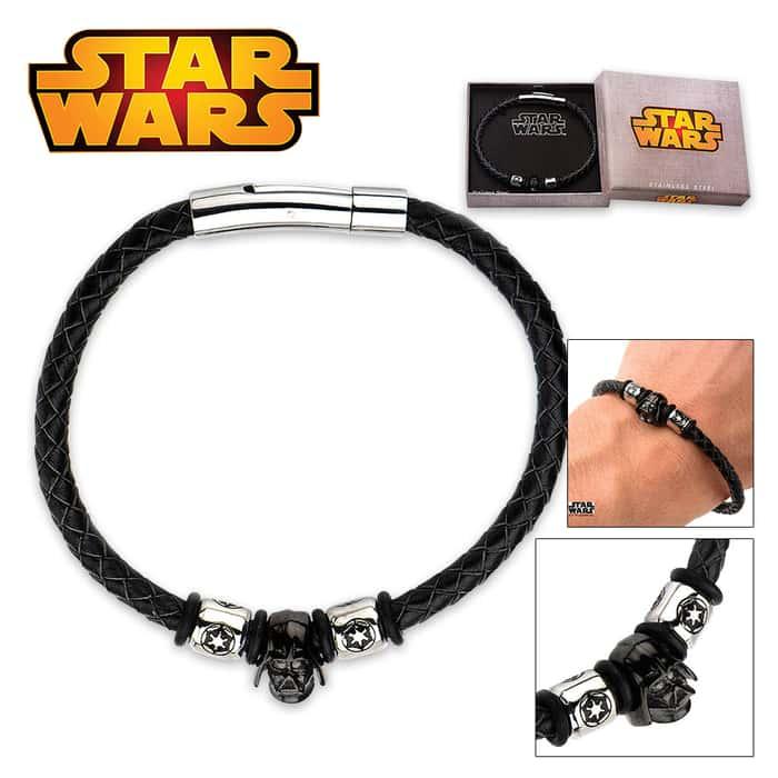 Star Wars Darth Vader Bracelet Black