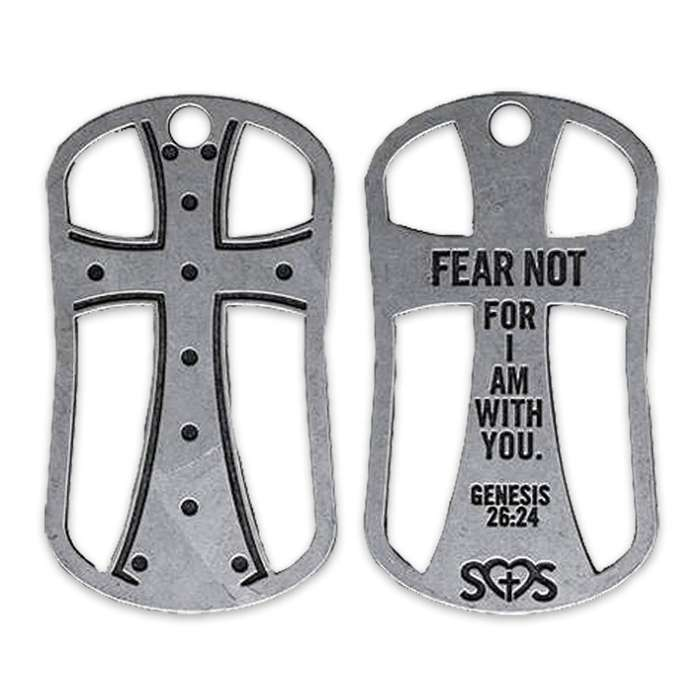 Fear Not Dog Tag