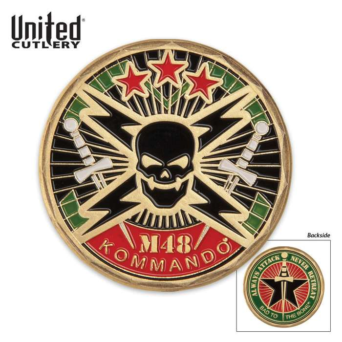 M48 Kommando Military Challenge Collectible Coin