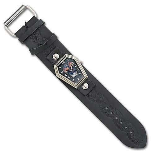 Alchemy Guild Wyverex Leather Band Watch