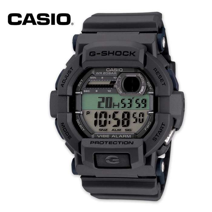 Casio G Shock Vibration Alarm Tactical Watch