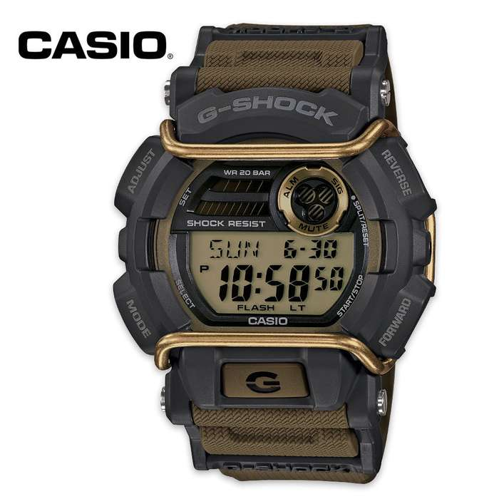 Casio Active Sport Olive Green Watch