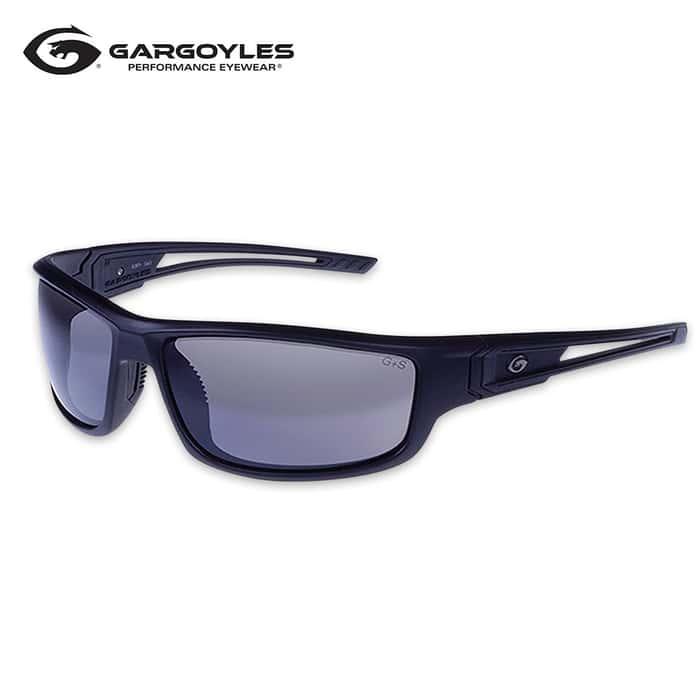 Gargoyles Squall Black Sunglasses - Smoke Lens