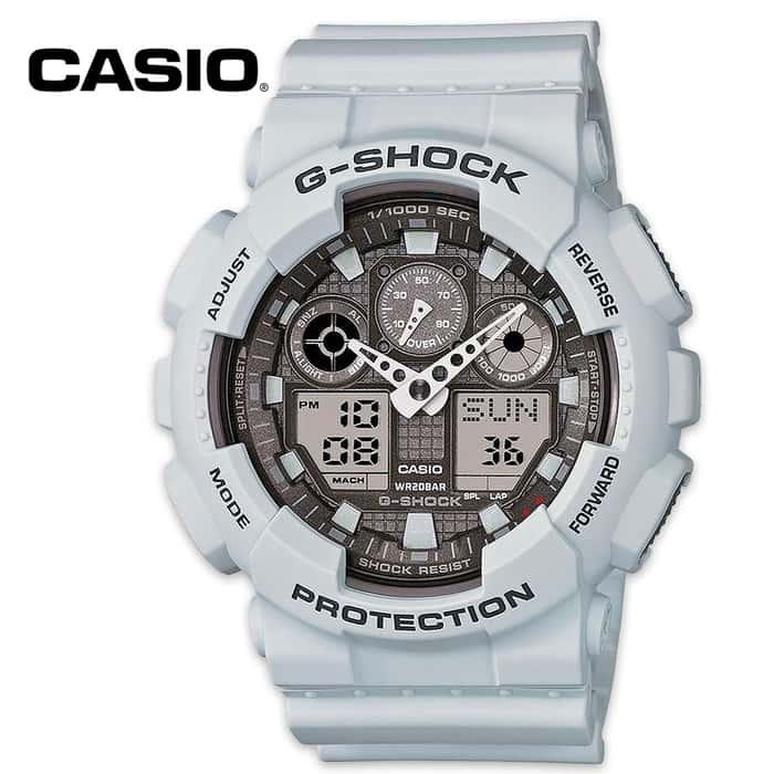 Casio Military Ice Gray XL Watch