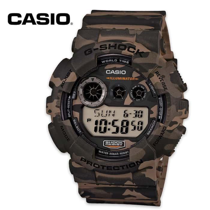 Casio Digital Camo Watch