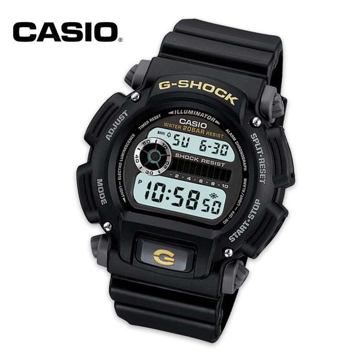 Casio G Shock Gold Sport Watch
