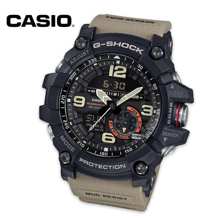 Casio Mudmaster G-Shock Watch