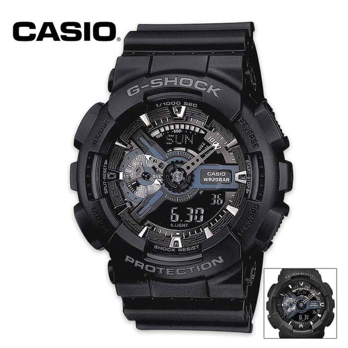 Casio Digital G Shock Tactical Black
