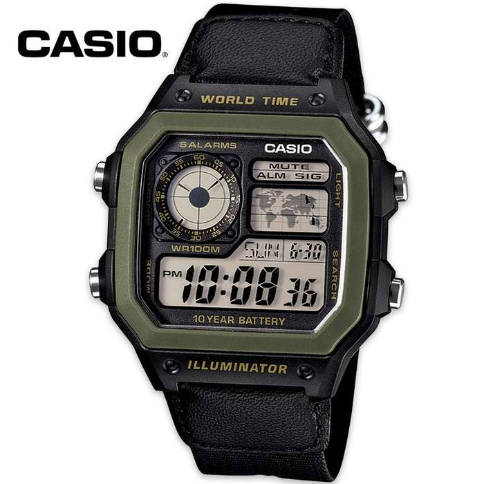 Casio Digital Sport Watch With 10-Yr Battery