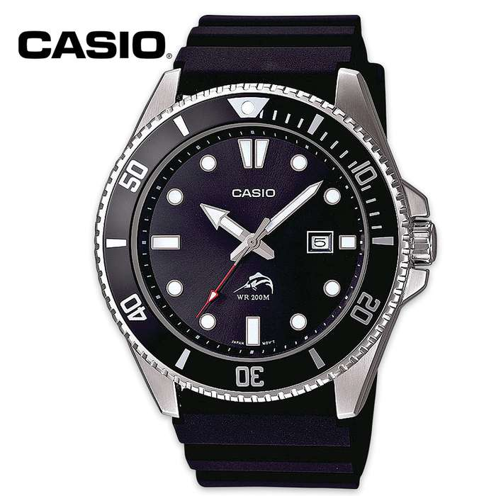 Casio Analog Dive Rotating Bezel Watch