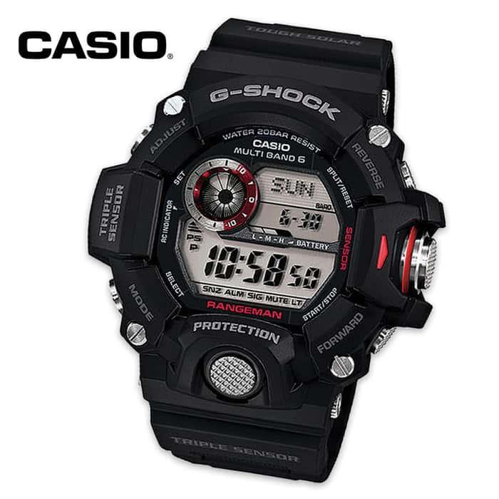 Casio G Shock Rangeman Triple Sensor Tactical Watch