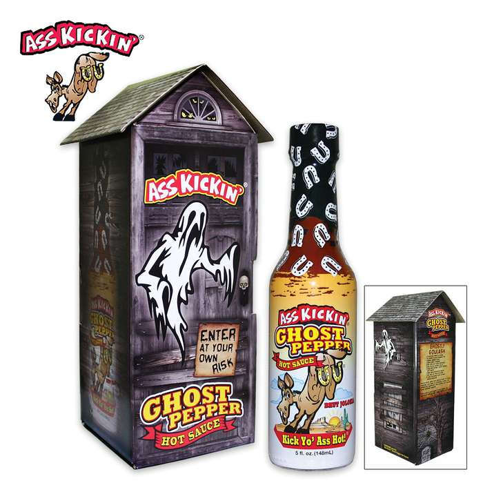 Ass Kickin Ghost Pepper Haunted House - One Of World's Hottest Peppers
