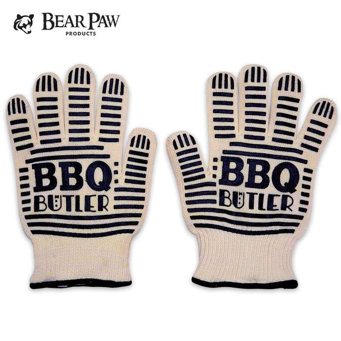 BBQ Butler Heat Resistant Gloves - Heat Resistant to 662 Degrees