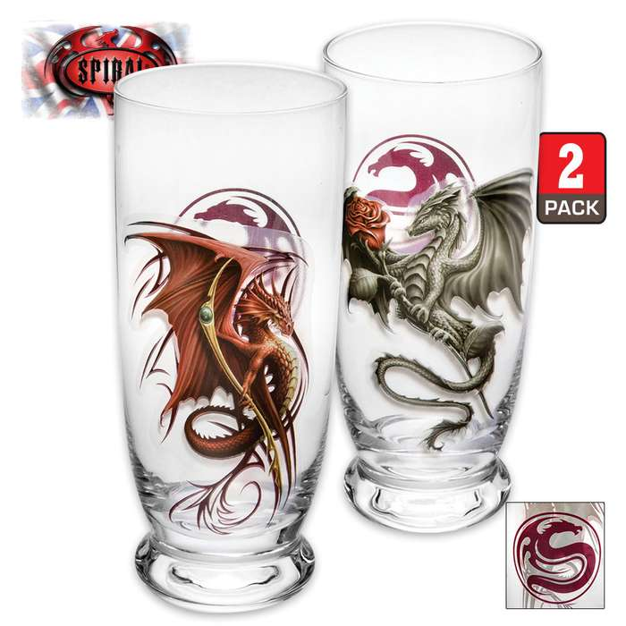 Wyvern Water Glasses - Set Of Two