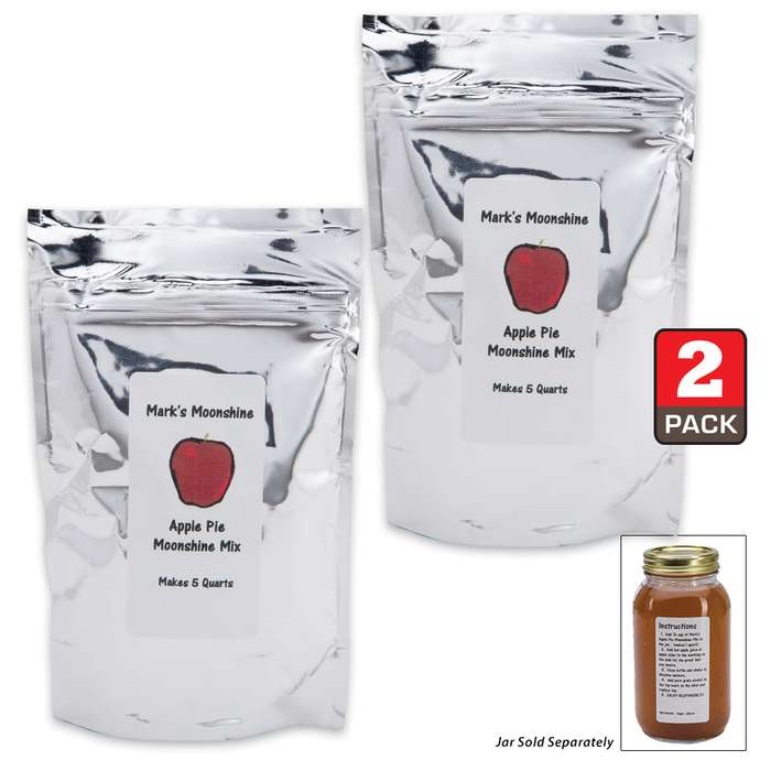 Mark's Moonshine Mix Apple Pie Refill - 10 Quarts