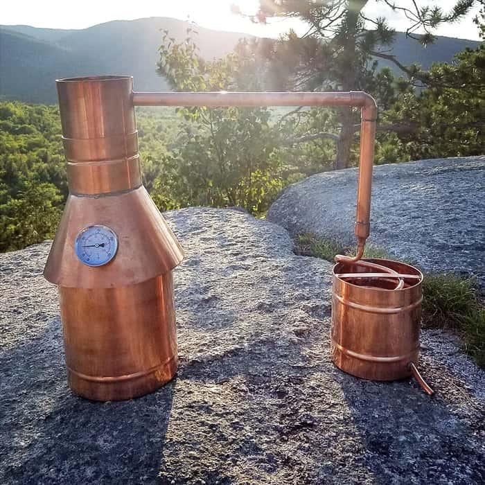 1 Gallon Copper Moonshine Still