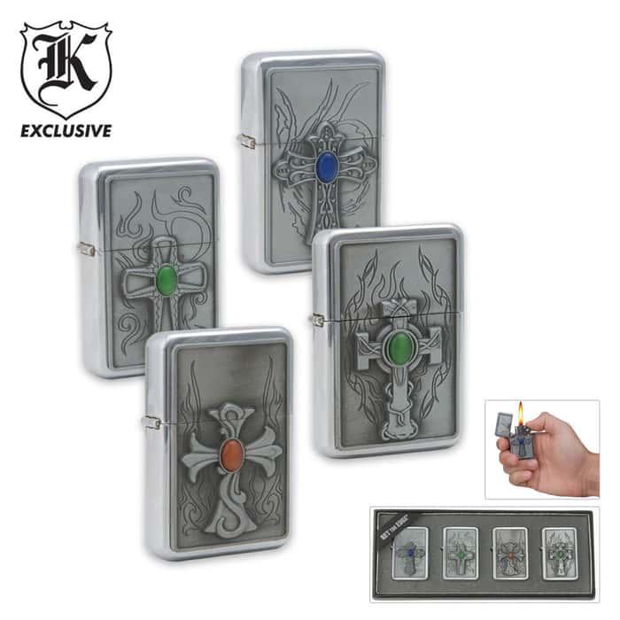 4 Piece Cross Lighter Set
