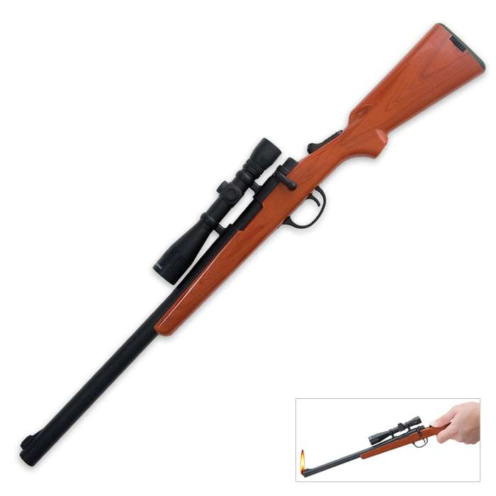 Bolt Action Rifle BBQ Lighter