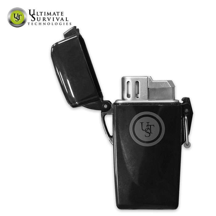 UST Floating Windproof Lighter Black