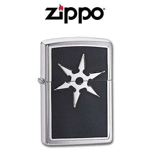 Zippo Six Point Throwing Star Lighter