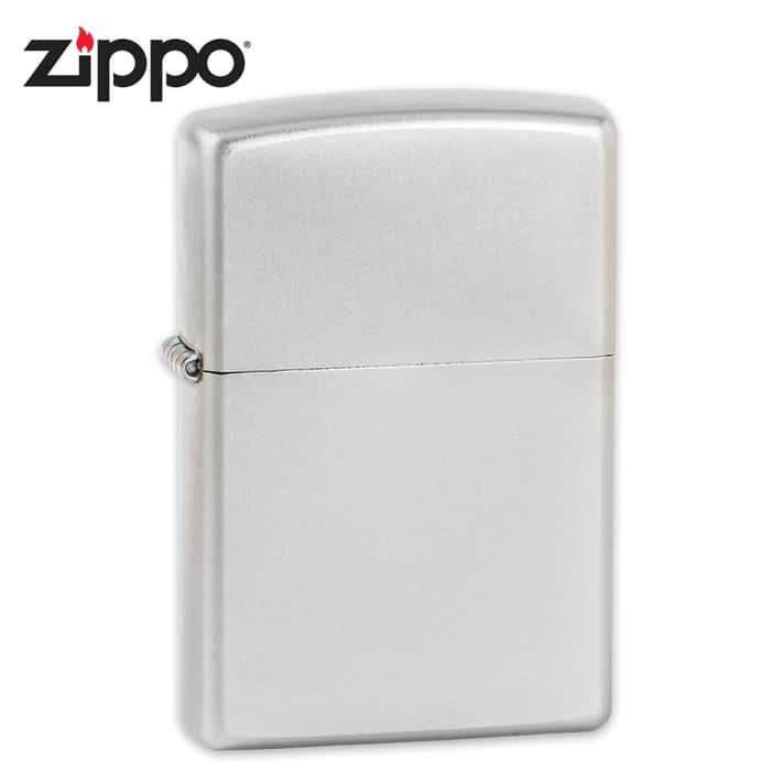 Zippo Classic Satin Lighter