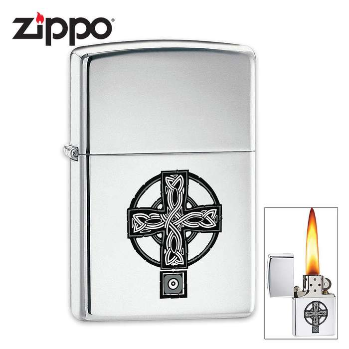 Zippo Celtic Cross Lighter