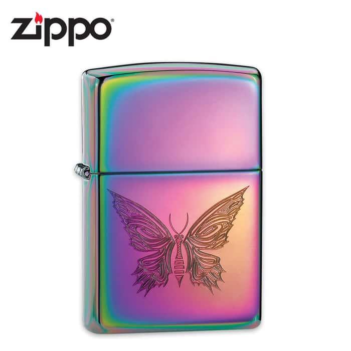 Zippo Wings Of Destiny Spectrum Lighter