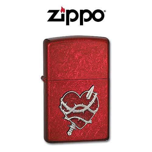 Zippo Heart Attack Lighter