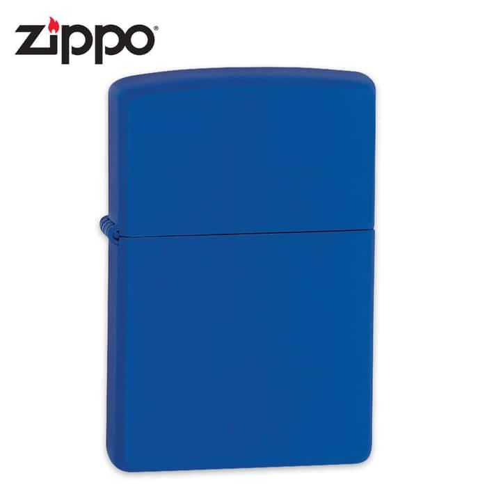 Zippo Royal Blue Matte Windproof Lighter