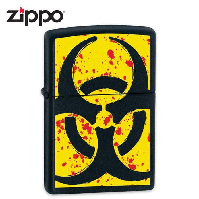 Zippo Biohazard Lighter