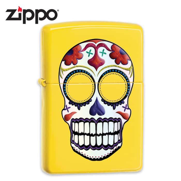 Zippo Lemon Day of the Dead Lighter