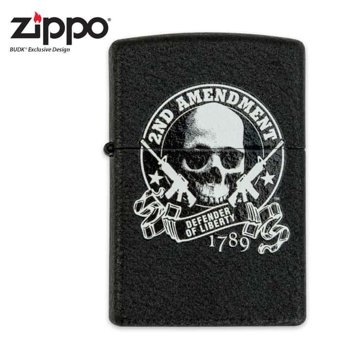 2nd Amendment Zippo Lighter