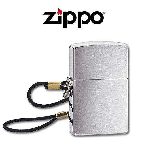 Zippo Lighter with Lanyard